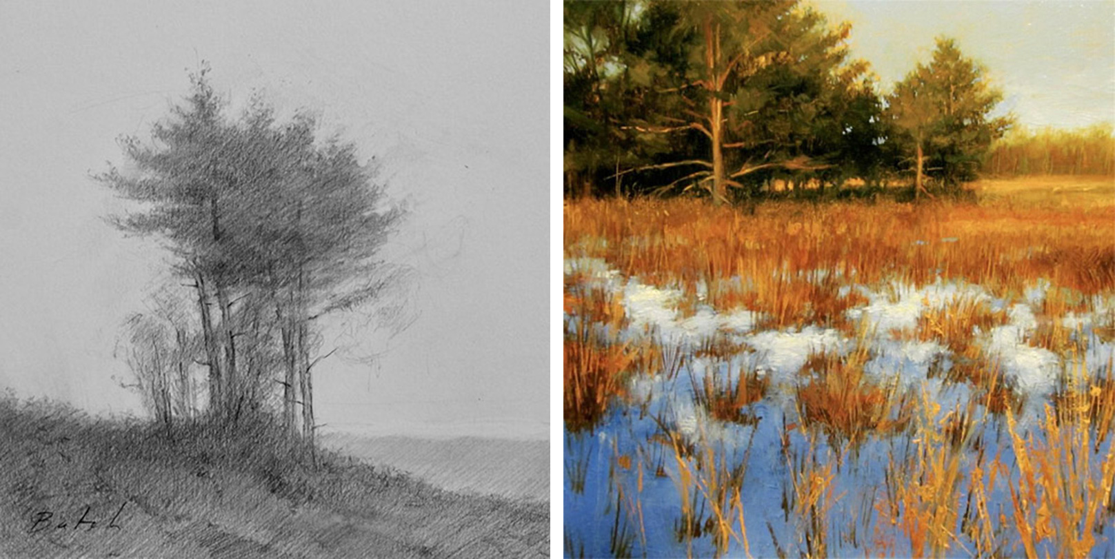 Paul Batch - Landscape Painting and Drawing<br>